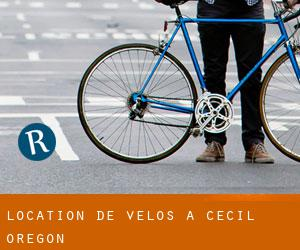 Location de Vélos à Cecil (Oregon)