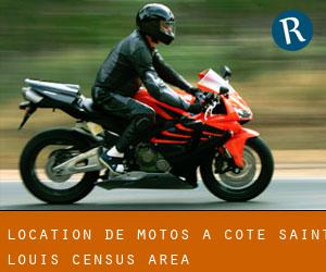Location de Motos à Côte-Saint-Louis (census area)