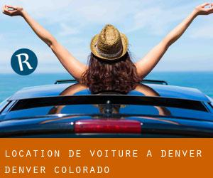 Location de Voiture à Denver (Denver, Colorado)