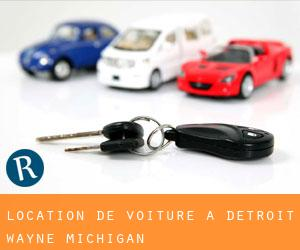 location de voiture à Détroit (Wayne, Michigan)