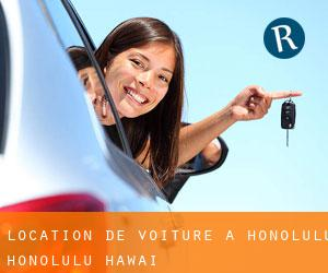 location de voiture à Honolulu (Honolulu, Hawaï)