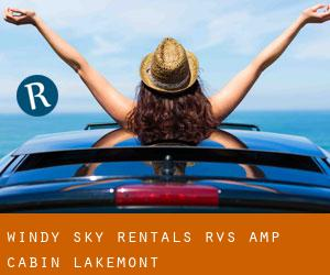 Windy Sky Rentals RV's & Cabin Lakemont